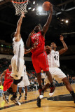 Rio Grande Valley Vipers v Austin Toros: Patrick Patterson, Thomas Gardner and Marcus Cousin Photographic Print by Chris Covatta