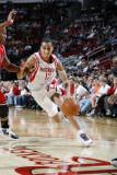 Chicago Bulls v Houston Rockets: Kevin Martin Photographic Print by Bill Baptist