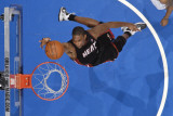 Miami Heat v Orlando Magic: Chris Bosh Photographic Print by Fernando Medina