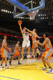Phoenix Suns v Golden State Warriors: David Lee and Hedo Turkoglu Photographic Print by Rocky Widner