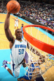 Dallas Mavericks v New Orleans Hornets: Emeka Okafor Photographic Print by Chris Graythen