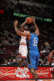 Orlando Magic v Chicago Bulls: Ronnie Brewer and Malik Allen Photographic Print by Gary Dineen