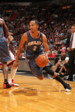 Charlotte Bobcats v Miami Heat: Shaun Livingston Photographic Print by Victor Baldizon