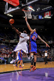 New York Knicks v Sacramento Kings: Tyreke Evans and Wilson Chandler Photographic Print by Rocky Widner