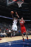 New Jersey Nets v Atlanta Hawks: Jamal Crawford Photographic Print by Scott Cunningham