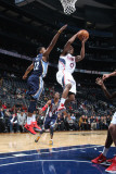 Memphis Grizzlies v Atlanta Hawks: Jeff Teague and Rudy Gay Photographic Print by Scott Cunningham