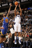 Golden State Warriors v Dallas Mavericks: Caron Butler and Dorrell Wright Photographic Print by Danny Bollinger