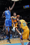 Oklahoma City Thunder v New Orleans Hornets: Marco Belinelli Photographic Print by Layne Murdoch