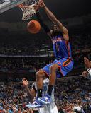 New York Knicks v New Orleans Hornets: Amar'e Stoudemire Fotografisk tryk af Layne Murdoch