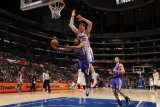 Sacramento Kings v Los Angeles Clippers: Luther Head and Blake Griffin Photographic Print by Noah Graham