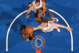 Utah Jazz v Los Angeles Clippers: Al Jefferson and Blake Griffin Photographic Print by Noah Graham