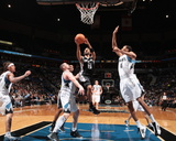 San Antonio Spurs v Minnesota Timberwolves: Tony Parker Photographic Print by David Sherman