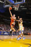Phoenix Suns v Golden State Warriors: Goran Dragic and Monta Ellis Photographic Print by Rocky Widner