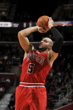 Chicago Bulls v Cleveland Cavaliers: Carlos Boozer Photographic Print by David Liam Kyle
