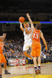Phoenix Suns v Golden State Warriors: Stephen Curry and Steve Nash Photographic Print by Rocky Widner