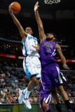 Sacramento Kings v New Orleans Hornets: Marcus Thornton and DeMarcus Cousins Photographic Print by Chris Graythen