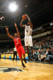 Rio Grande Valley Vipers v Austin Toros: Lewis Cinch and Jerel McNeal Photographic Print by Chris Covatta