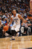 Memphis Grizzlies v Orlando Magic: Jameer Nelson Photographic Print by Fernando Medina