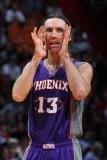 Phoenix Suns v Miami Heat: Steve Nash Photographic Print by Victor Baldizon