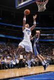 Memphis Grizzlies v Orlando Magic: Marcin Gortat Photographic Print by Fernando Medina