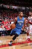 Orlando Magic v Portland Trail Blazers: Jameer Nelson Photographic Print by Sam Forencich