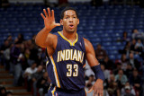Indiana Pacers v Sacramento Kings: Danny Granger Photographic Print by Rocky Widner