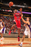 Chicago Bulls v Phoenix Suns: C.J. Watson and Goran Dragic Photographic Print by Barry Gossage