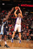 Memphis Grizzlies v Phoenix Suns: Hedo Turkoglu Photographic Print by Barry Gossage