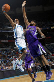 Sacramento Kings v New Orleans Hornets: Marcus Thornton and DeMarcus Cousins Photographic Print by Layne Murdoch