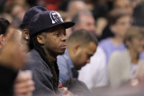 Phoenix Suns v Miami Heat: Lil' Wayne Photographic Print by Mike Ehrmann