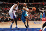 New Orleans Hornets v Los Angeles Clippers: Jarrett Jack and Al-Farouq Aminu Photographic Print by Noah Graham
