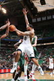 Milwaukee Bucks v Utah Jazz: Deron Williams Photographic Print by Melissa Majchrzak