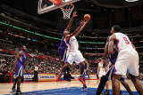 Sacramento Kings v Los Angeles Clippers: Ryan Gomes Photographic Print by Noah Graham
