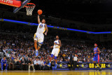 Detroit Pistons v Golden State Warriors: Monta Ellis Photographic Print by Rocky Widner