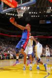 Detroit Pistons v Golden State Warriors: Charlie Villaneuva Photographic Print by Rocky Widner