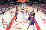 Phoenix Suns v Houston Rockets: Brad Miller Photographic Print by Bill Baptist