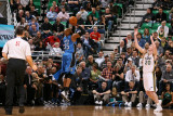 Orlando Magic v Utah Jazz: Vince Carter and Gordon Hayward Photographic Print by Melissa Majchrzak