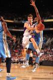 Denver Nuggets v Phoenix Suns: Goran Dragic Photographic Print by Barry Gossage