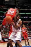 New Jersey Nets v Los Angeles Clippers: Ryan Gomes and Anthony Morrow Photographic Print by Noah Graham
