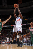 Milwaukee Bucks v Philadelphia 76ers: Elton Brand Photographic Print by Jesse D. Garrabrant