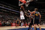 Utah Jazz v Los Angeles Clippers: Al-Farouq Aminu and Al Jefferson Photographic Print by Noah Graham