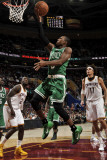 Boston Celtics v Cleveland Cavaliers: Rajon Rondo, J.J. Hickson and Anderson Varejao Photographic Print by David Liam Kyle