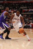Sacramento Kings v Los Angeles Clippers: Al-Farouq Aminu and Donte Greene Photographic Print by Noah Graham