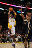 Utah Jazz v Los Angeles Clippers: Kobe Bryant and Danny Granger Photographic Print by Noah Graham