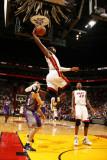 Phoenix Suns v Miami Heat: Dwyane Wade Photographic Print by Issac Baldizon