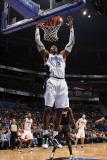 Miami Heat v Orlando Magic: Dwight Howard Photographic Print by Fernando Medina