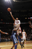Denver Nuggets v Toronto Raptors: Leandro Barbosa and Al Harrington Photographic Print by Ron Turenne