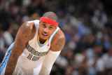 Milwaukee Bucks v Denver Nuggets: Carmelo Anthony Photographic Print by Garrett Ellwood