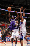 Sacramento Kings v Los Angeles Clippers: Eugene Jeter Photographic Print by Noah Graham