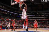 New Jersey Nets v Los Angeles Clippers: DeAndre Jordan Photographic Print by Noah Graham